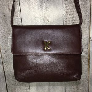 By Paloma Picasso Leather Shoulder Bag